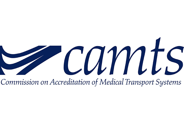 Logo of the Commission on Accreditation of Medical Transport Systems